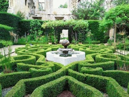 Садовый лабиринт как сделать фото своими руками на дачу