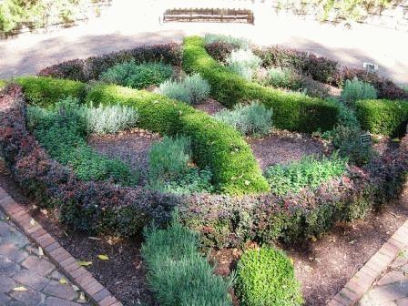 Садовый лабиринт фото своими руками на дачу