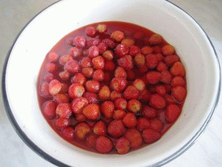 клубничное варенье без варки ягод рецепт