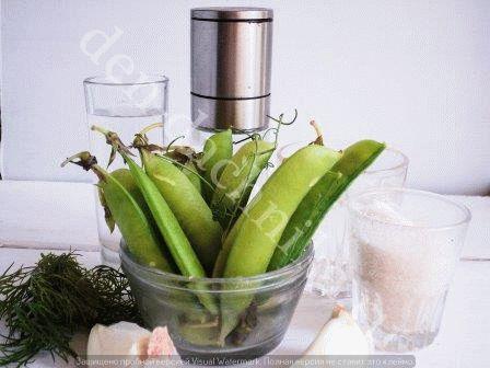 маринованный зеленый горошек в домашних условиях