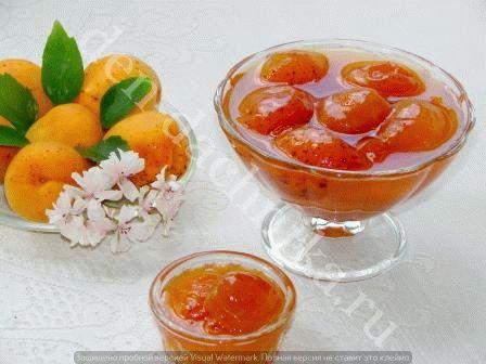 варенье из абрикоса без косточки рецепт