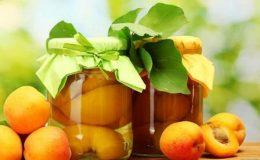 Компот из абрикосов на зиму – 4 рецепта