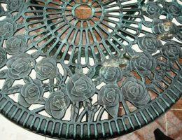 Садовая мебель из металла для дачи и зимнего сада, фото