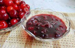 Рецепты из вишни без косточек на зиму (варенье, джем, конфитюр)